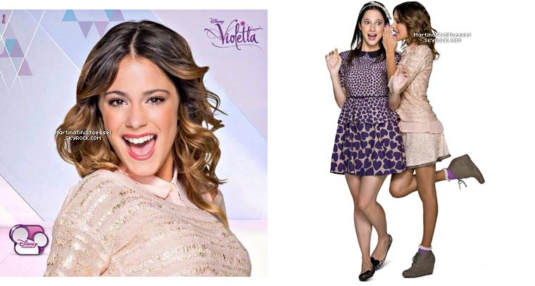 Violetta chante « Cómo Quieres » dans la saison 2 de « Violetta ».