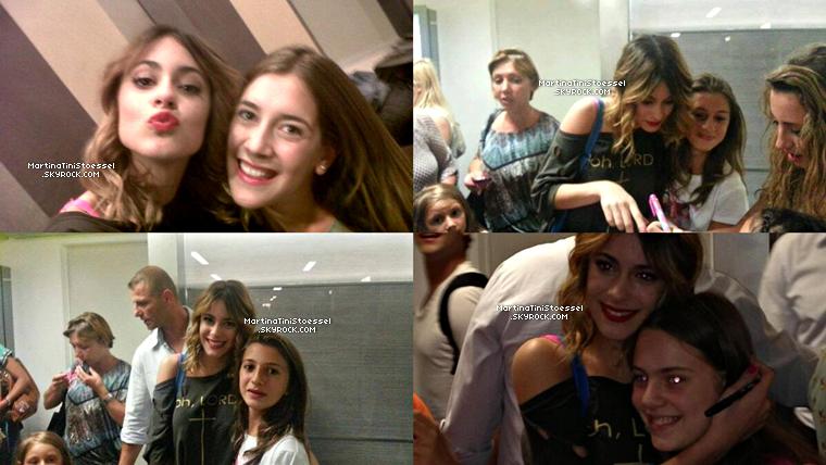 Martina était au photocall de « Violetta » en Italie.