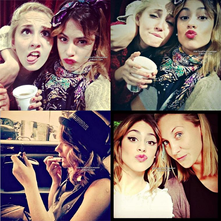 Voici un photoshoot de Martina pour faire la promo de « Violetta » saison 1 en Italie.