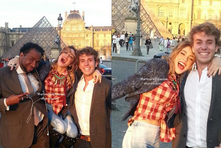 Nouvelles photos de Tini à Paris