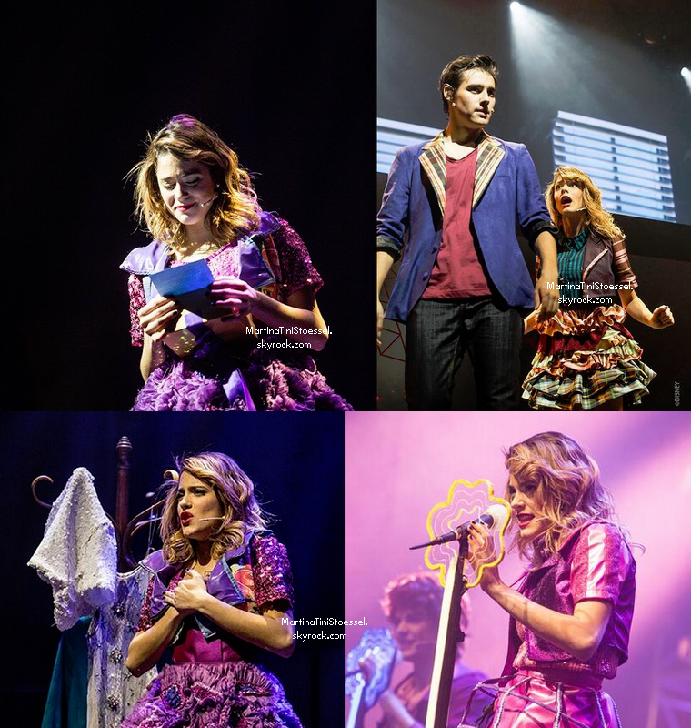 Concert de Violetta au Grand Rex le 13 juillet 2013.