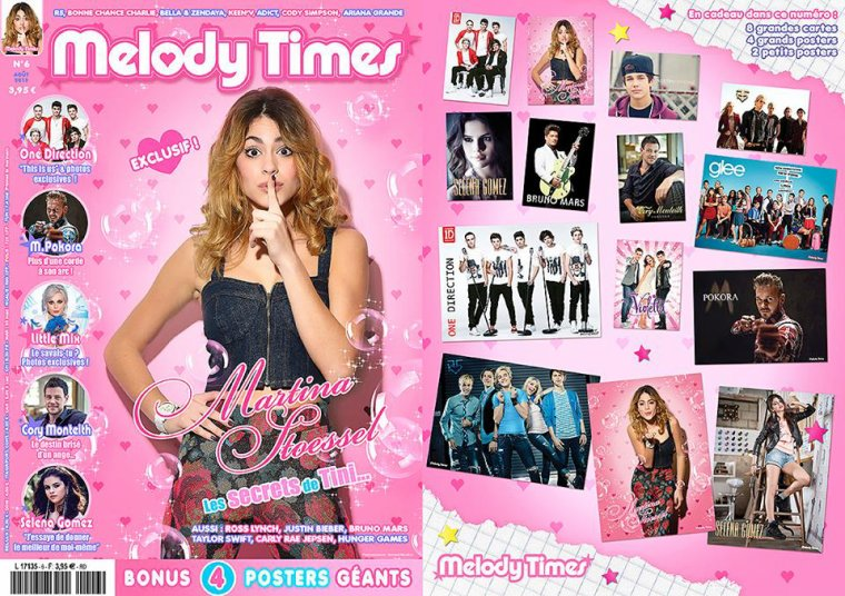 Martina Stoessel dans le Melody Times 6.