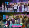 """Le cast de Violetta à """"Un Sol Para Los Chicos"""" le 10 août 2013."""