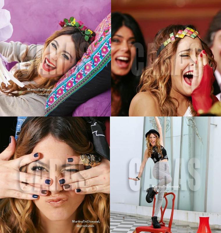 Le cast de Violetta au Grand Rex le 18 août 2013.