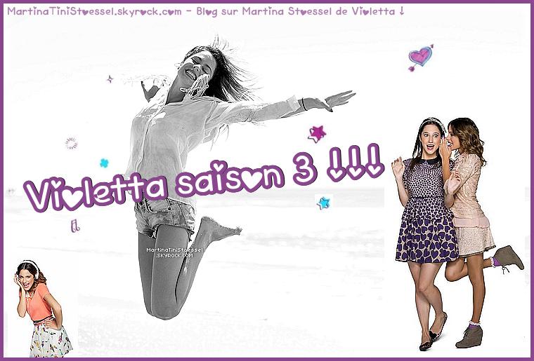 Il y aura bien une saison 3 de « Violetta » ! ♥