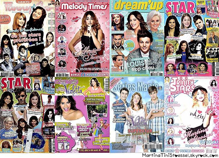 Magazine de « Violetta » ♥