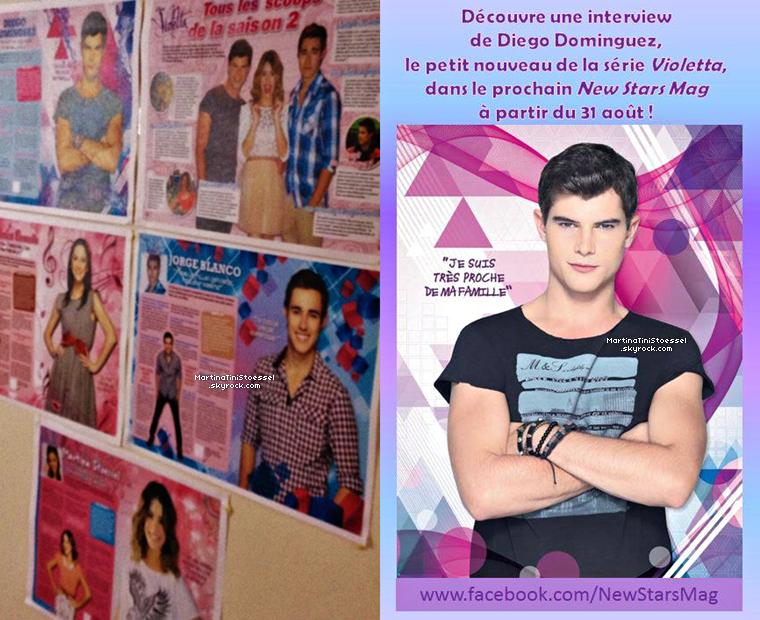 2 nouveaux magazines de « Violetta » !
