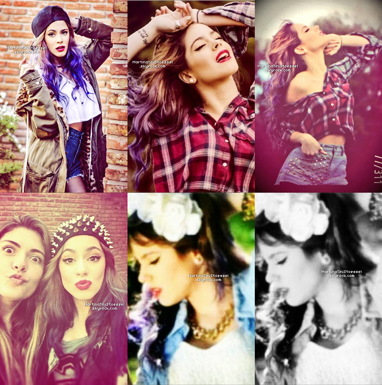 Nouveau photoshoot de Martina, elle est juste M A G N I F I Q U E ! ♥