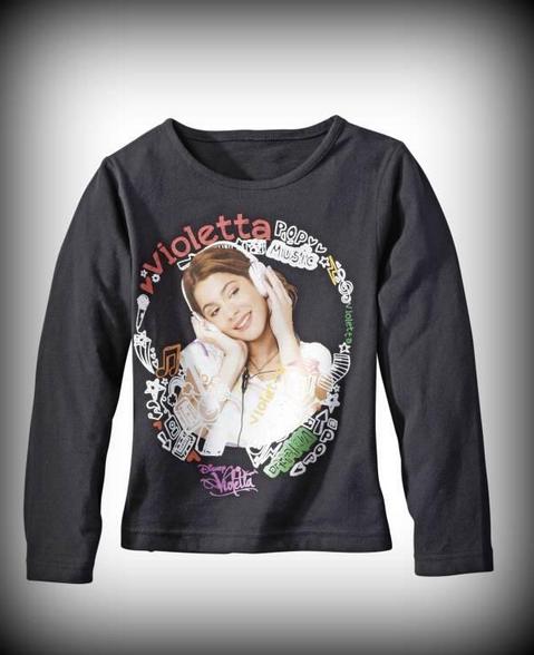 Nouveaux t-shirts « Violetta » qui risquent de se vendre en France pour environ 8 ¤ !