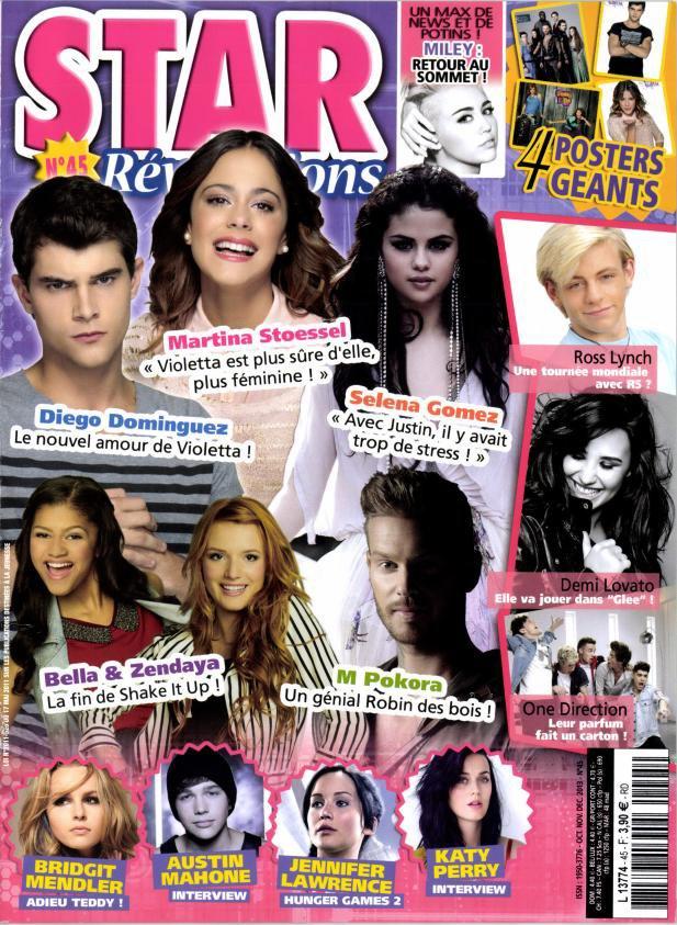 Nouveaux magazines sur « Violetta ».