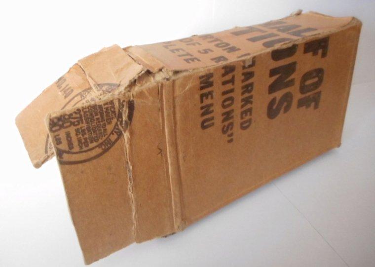 Mailing Box d'un soldat de la 45th