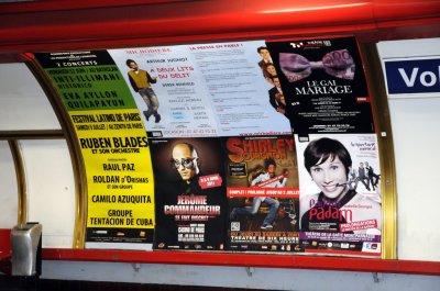 Shirley Souagnon dans les couloirs métro parisiens du 10 mars au 23 mars 2011 !!
