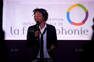 L'Humoriste Shirley Souagnon - Célébration de la Journée de la Francophonie 2011-