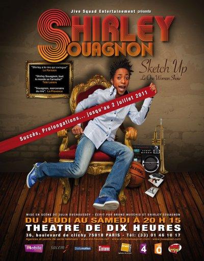 """Jivesquad Entertainment présente Shirley Souagnon dans """"Sketch Up"""" au Théâtre de Dix Heures"""