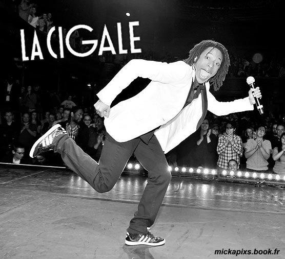Faire la Cigale avec @Shirley Souagnon ? C'est fait ! #31.03.2012