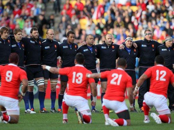Coupe du Monde : Défaite des bleus face aux Tonga, 19 à 14 . Mais nous sommes tout de même en 1/4 de finale face à l'Angleterre !