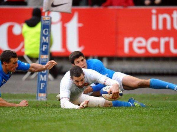 Victoire des Bleus face aux Italiens 30- 12 ! Le Tournoi commence plutôt bien :) ♥