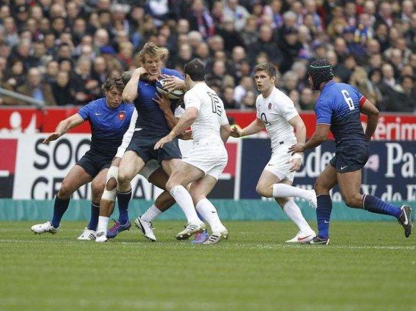 Dèfaite du XV de France contre les Anglais : 22 à 24 ! Bravo à nos Bleus qui ont quand même fait un beau Tournoi des VI Nations !