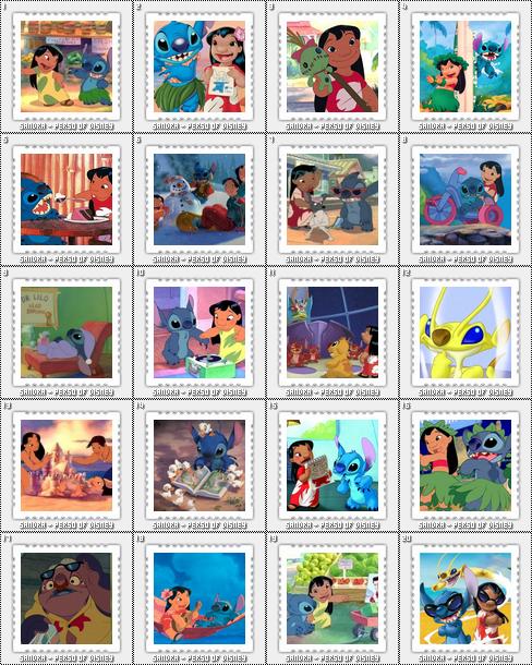 Rubrique 1 : Lilo & Stitch - Images à volontées.