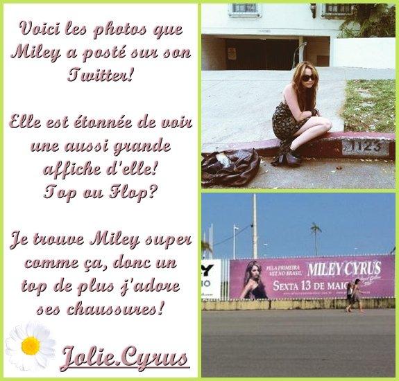 Tweet @MileyCyrus ♥.