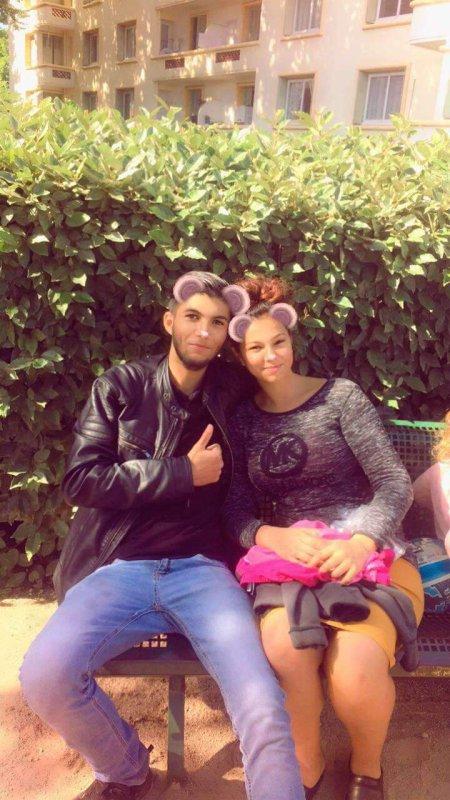 Dalena avec son marie