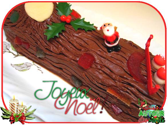 ● DESSERT : Buche de Noël