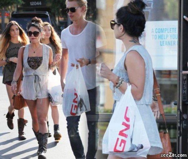 08/06/12 -Nous avons enfin des nouvelles de Nessa . Elle était avec Austin , Stella et Pia Mia une amie à Stella au GNC de Studio City