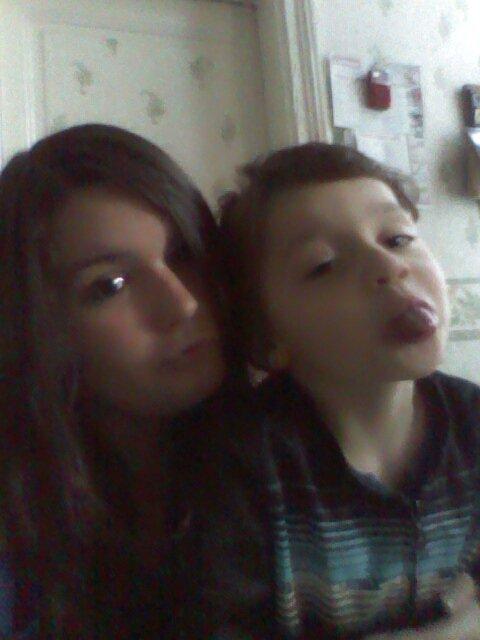 moi et mon filleul lucas