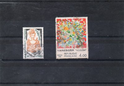 pour kalendor56 10 timbres + 2 abimés (offerts)