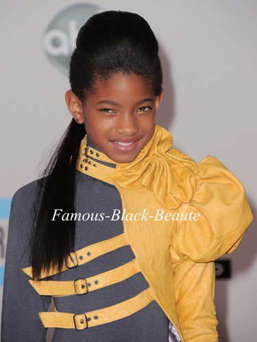 Willow Smith And Ciara --- Hair