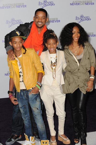 Will Smith Jada Smith Willow Smith Et Jaden Smit
