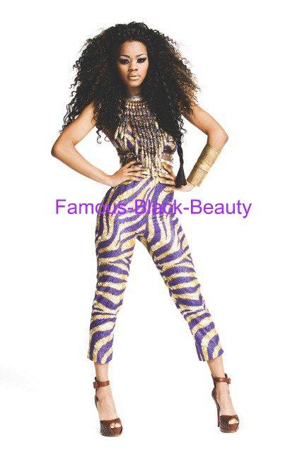 Inspiration Style: Afrique Taylor Teyana de Inspiré Shoot Vibe Magazine Photo par Claire