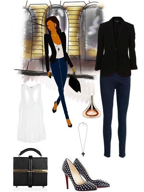 Nouvelle fonctionnalité? Illustrations de mode Jessica Niaty-Mouamba