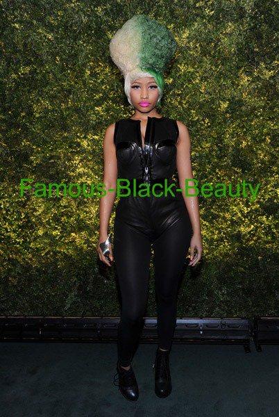 Hot! Hmm ... ou: Minaj Nicki à la vente aux enchères 2011 Green: le but de sauver la Terre