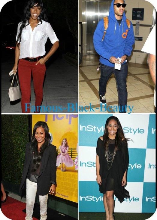 Cette semaine dans le chic: Chris Brown, Lauren London, Kim Kardashian et plus encore! par Vuitton