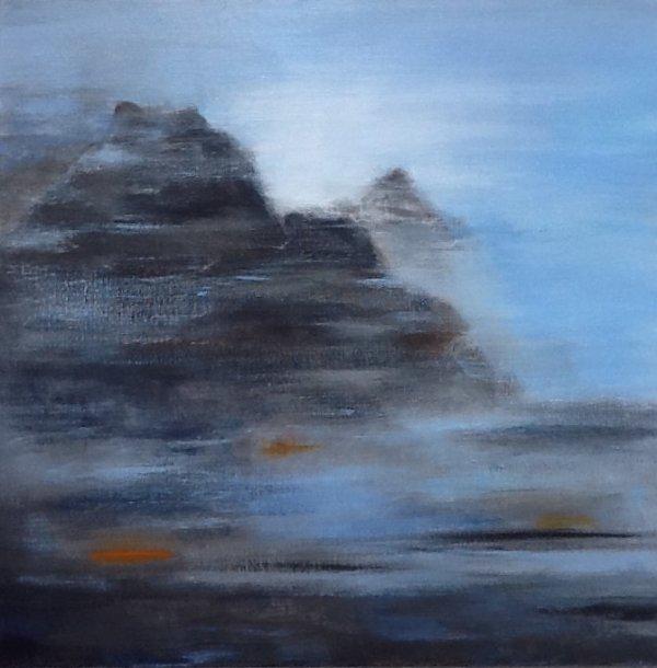 Entre CIEL et TERRE IV (AC/toile 60 x 60 cm)