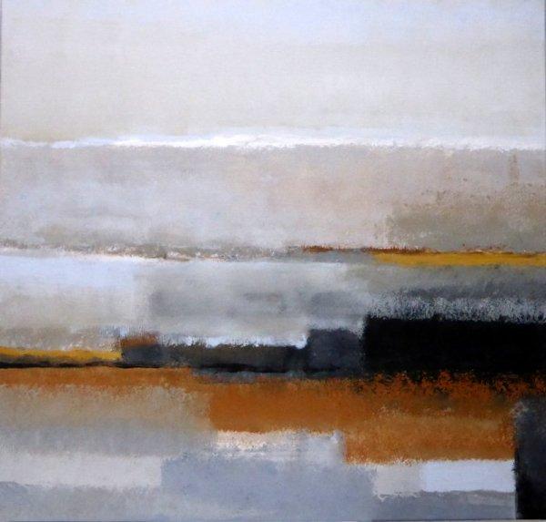 PAYSAGE DE REVE ou REVE de PAYSAGE I (AC/toile 80 x 80 cm)