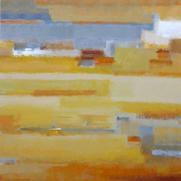 PAYSAGE DE REVE ou REVE de PAYSAGE II (AC/toile 80 x80 cm )