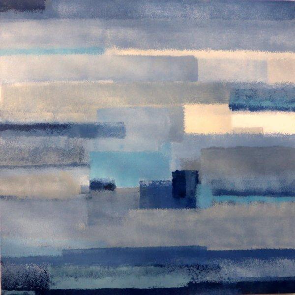 PAYSAGE DE REVE ou REVE de PAYSAGE III (AC/toile 80 x 80 cm)