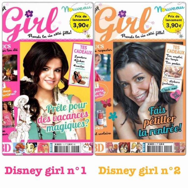 Disney girl numéro 1 et 2