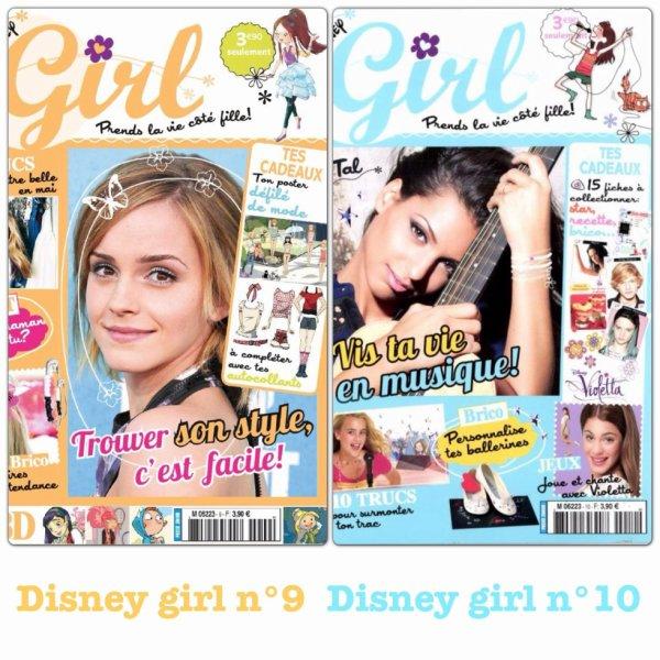Disney girl numéro 9 et 10