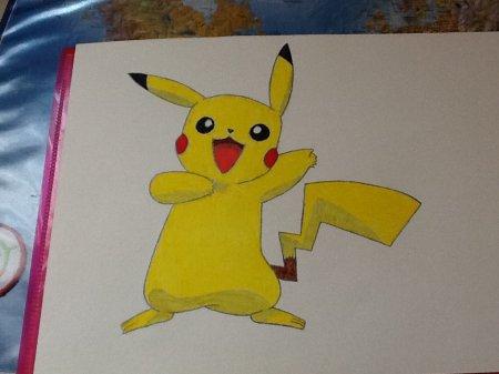 Dessin de Pikachu dans Pokémon