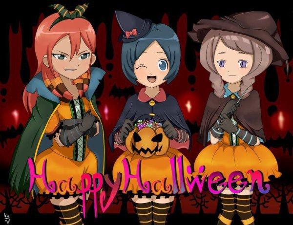 Inazuma Eleven GO : spécial Halloween