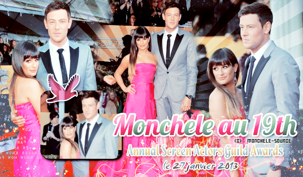 Monchele au 19th Annual Screen Actors Guild Awrads - Déco - Créa -