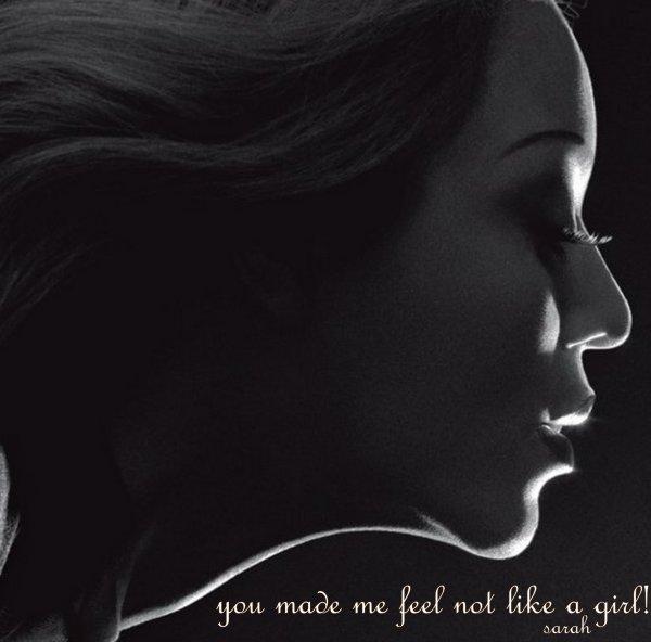 not like a girl...