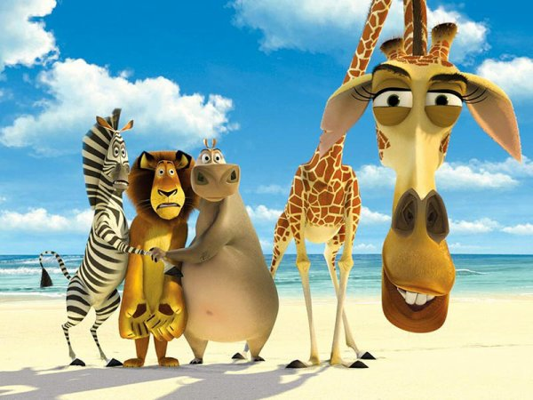 Madagascar 1 & 2