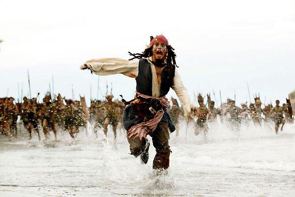 Pirate des caraïbes 1 , 2 , 3 & 4