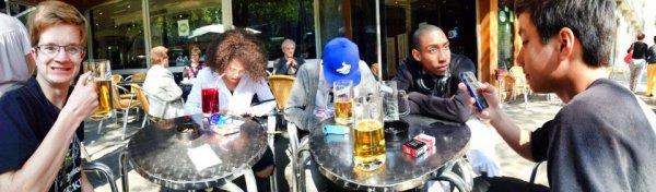 Barcelona (Mon verre est vide) Eh oui sa descend vite ce genre de boisson :P