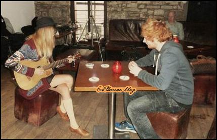 Ed et Taylor Swift sur un titre