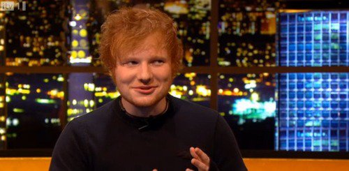 Ed interviewé par Jonathan Ross